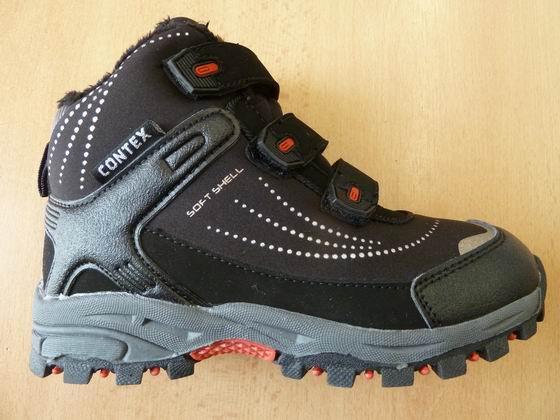 Vyšší softshellové zimní boty