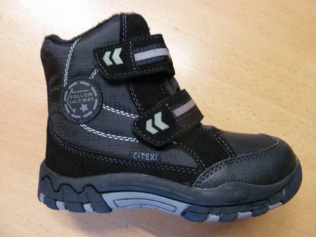 Vyšší zimní boty s membránou