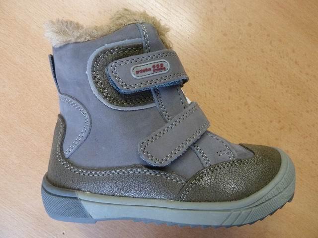 Celokožené zimní boty